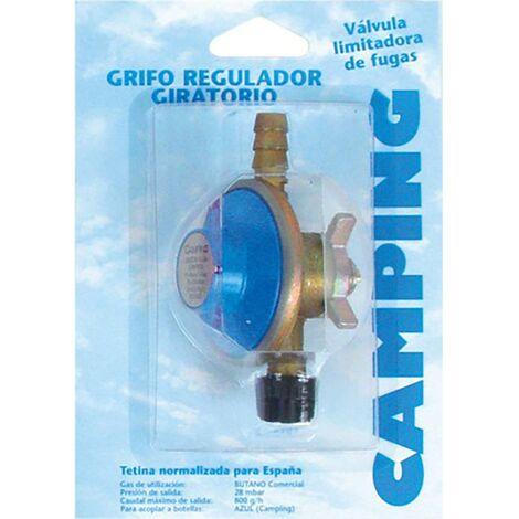 Grifo Camping Regulador Gas Giratorio 28 Gr Butsir Repu0002