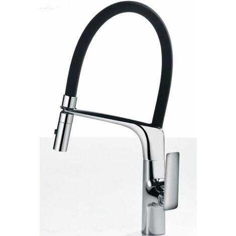 Grifo cocina con ducha profesional monomando Serie Lanzarote - IMEX