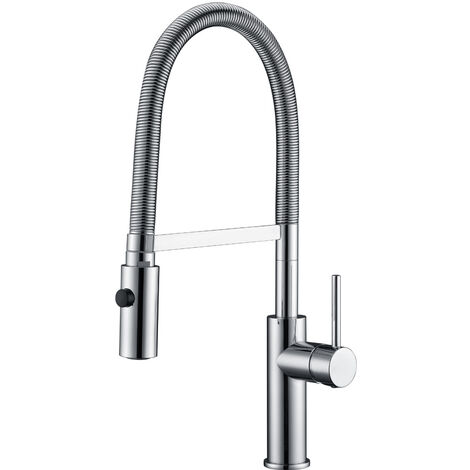 Grifo cocina con ducha profesional monomando Serie Torino - IMEX