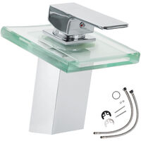 Grifo con vidrio en cascada (modelo 1)