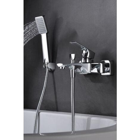 grifo de bañera / ducha monomando cromado Serie Bali - IMEX