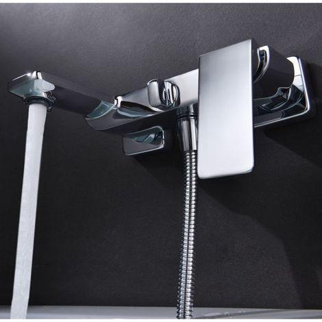 Grifo de bañera / ducha monomando cromado Serie Fiyi - IMEX