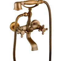 Grifo de baño/bañera serie Almendro en bronce
