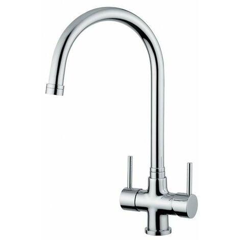 Grifo de cocina de 3 vías agua filtrada Quadrodesign 303/1