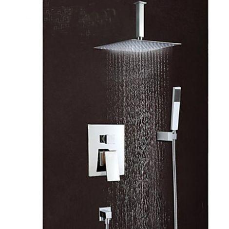 Grifo de ducha con ducha de lluvia y cabezal de ducha