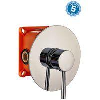 Grifo de ducha empotrado pared monomando con 5 años de garantia - EN 509201