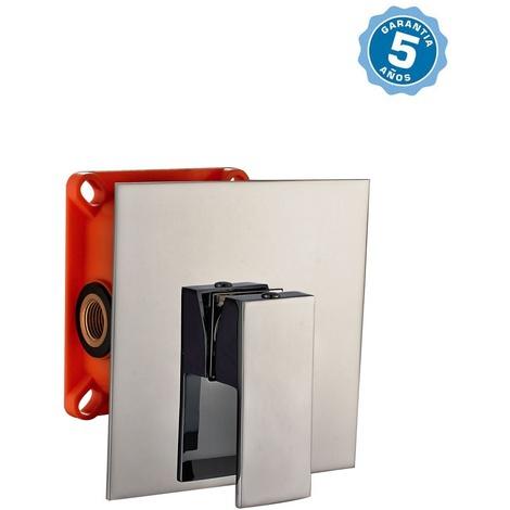 Grifo de ducha empotrado pared monomando con 5 años de garantia - EN 509301