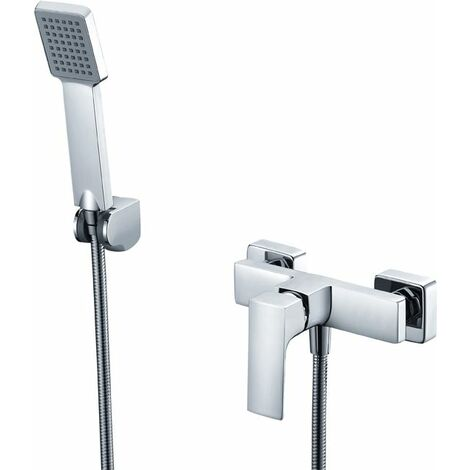 Grifo de ducha monomando cromado Serie Bali - IMEX