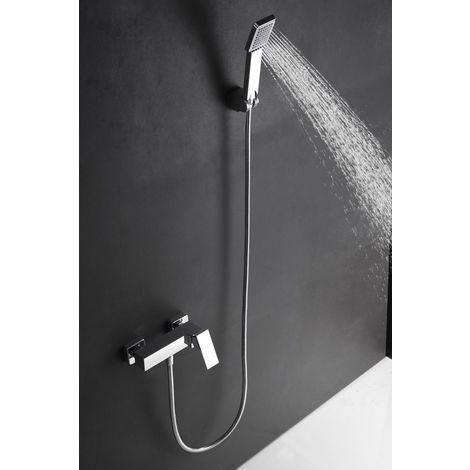 Grifo de ducha monomando cromado Serie Valencia - IMEX