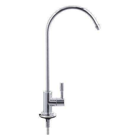 Grifo de fregadero de cocina de ósmosis inversa cromada de 1/4 '' Grifo de filtro de agua potable