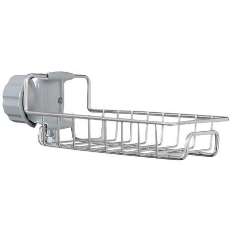 grifo de la cocina estante soporte de pie estante de drenaje pano