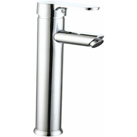 Grifo de lavabo alto serie Roble