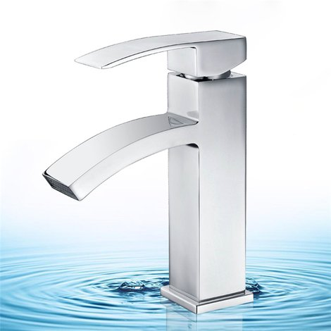 Grifo de lavabo Cromo Monomando HOMELODY