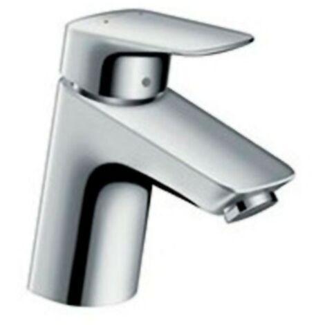 Grifo de lavabo Logis 100 PUSH-OPEN 71107000 de Hansgrohe