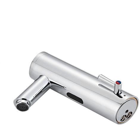 Grifo de lavabo para bano, grifo sin contacto con sensor automatico,Diametro del tubo:3/8