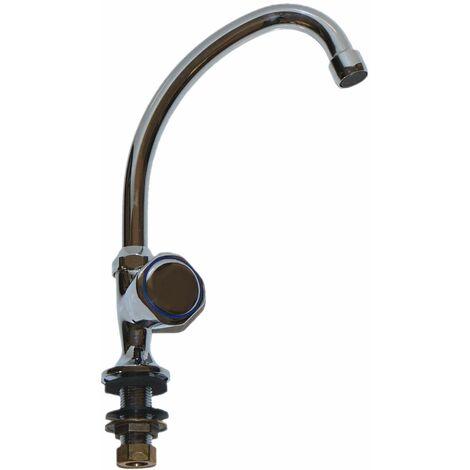 Grifo de pilar de agua fría 15 x 21 con válvula