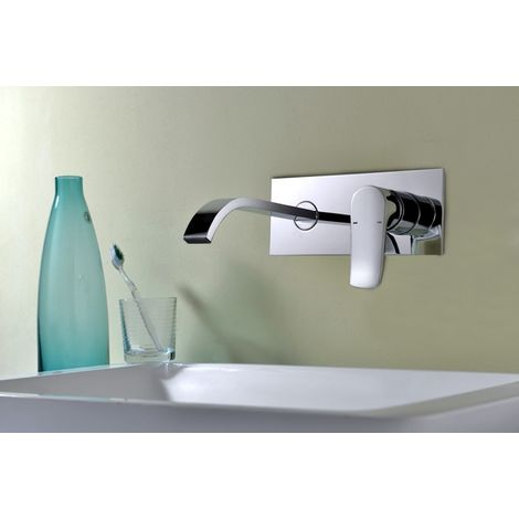 Grifo empotrado de lavabo monomando Serie Malta - IMEX
