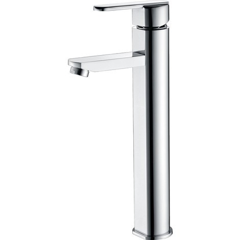 Grifo lavabo alto cromado monomando Serie Roma - IMEX