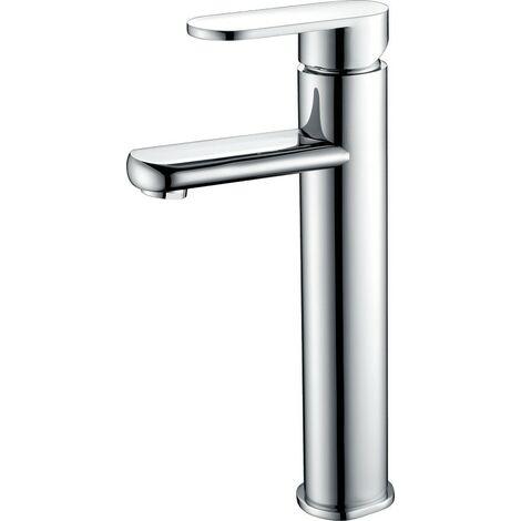 Grifo lavabo alto cromado monomando Serie Sintra - IMEX