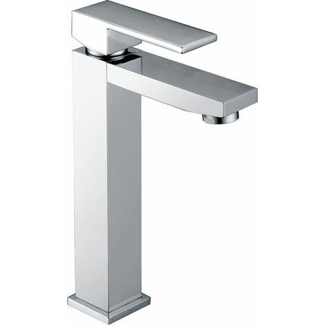 Grifo lavabo alto cromado monomando Serie Valencia - IMEX