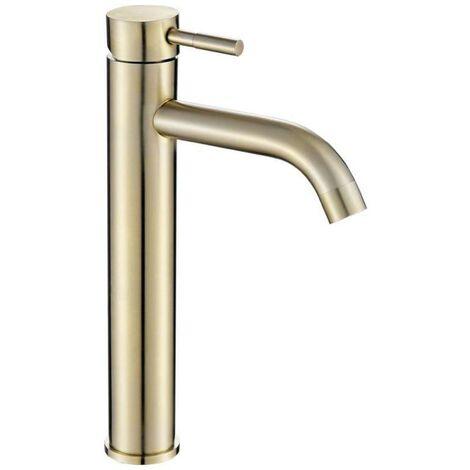 Grifo lavabo alto SLIGO dorado