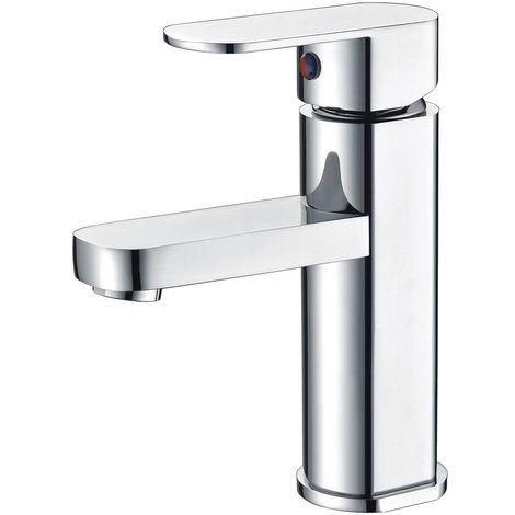 Grifo lavabo cromado monomando Serie Liverpool - IMEX