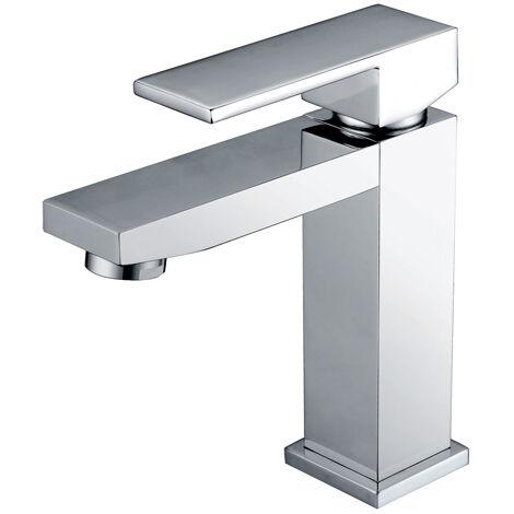 Grifo lavabo cromado monomando Serie Valencia - IMEX