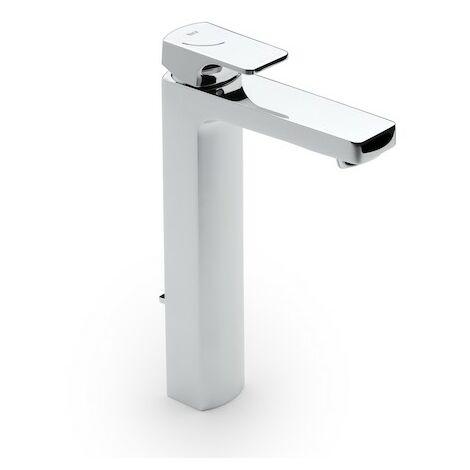 Grifo monomando de caño alto para lavabo con desagüe automático L-90 - ROCA