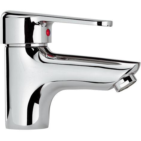 Grifo monomando de lavabo cromado TOPAZE BY EUROSANIT