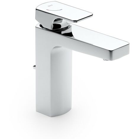 Grifo monomando para lavabo con desagüe automático L-90 - ROCA