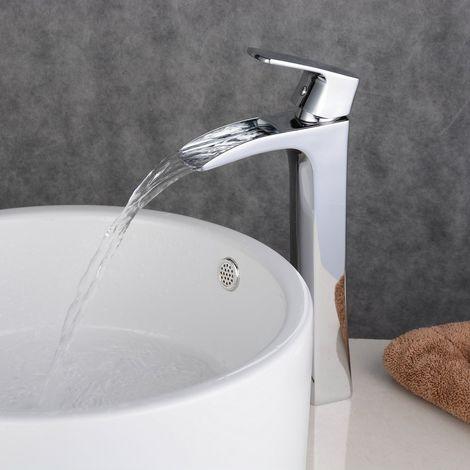 Grifo monomando para lavabo Grifo monomando de latón cromado