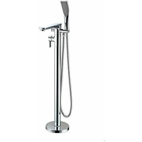 Grifo monomando sobre SUELO bañera/ducha KIATO para bañera exenta