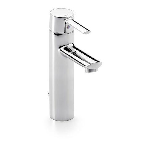 Grifo para lavabo con caño alto y desagüe automático TARGA - ROCA