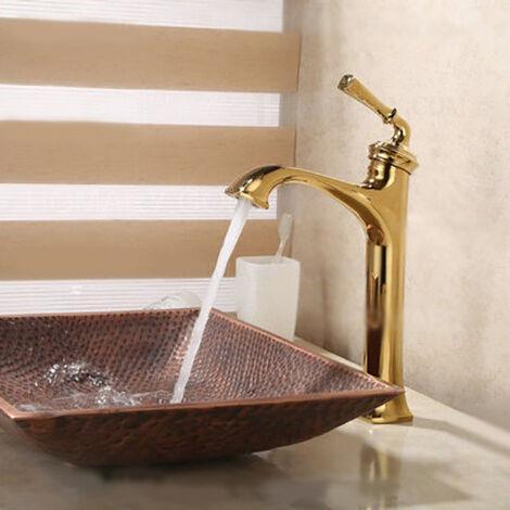 Grifo para lavabo de latón macizo de estilo vintage