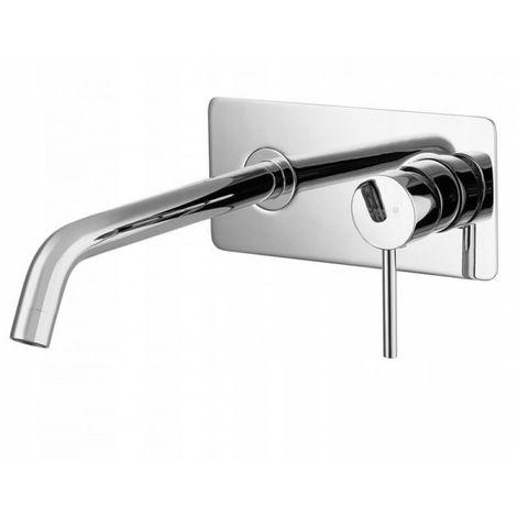 Grifo para lavabo empotrado de pared para baño