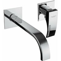 Grifo para lavabo empotrado Porta&Bini Crystal 14116