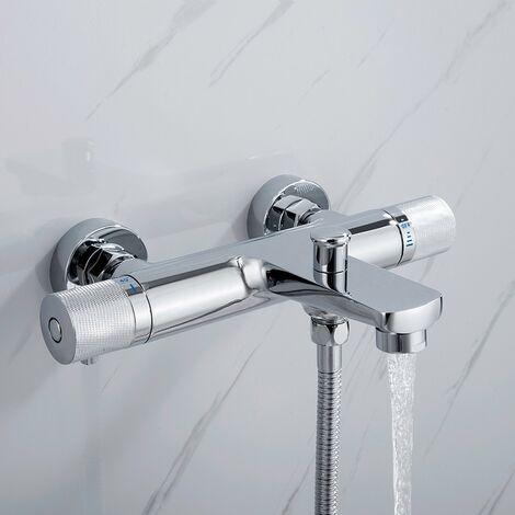 Grifo termostático para bañera 40 ℃ de Diseño de divisor de agua de elevación