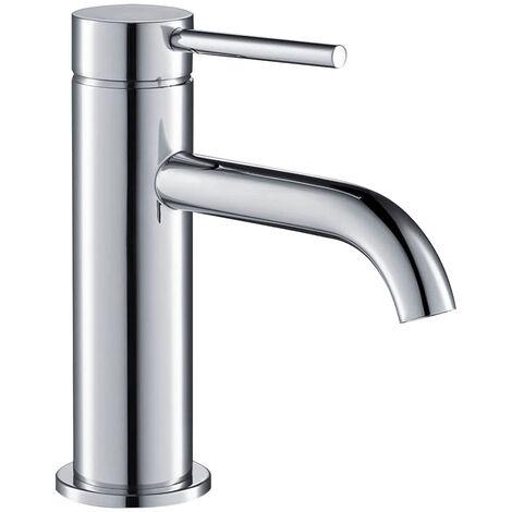 Grifo termostático para ducha cuadrado fabricado en latón macizo y acabado en cromo brillo. Kibath