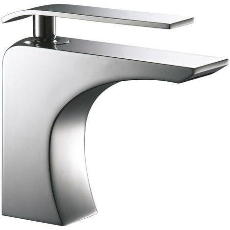Grifos de lavabo en cascada ZIO monomando + valvula incluida