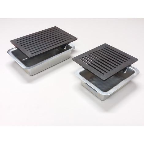 cassetto portacenere 30 x 20 x 7 cm L