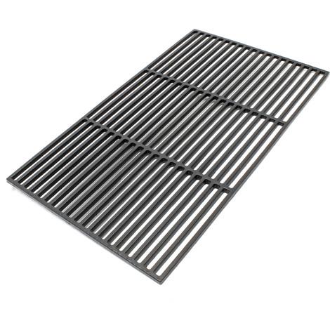 Griglia per barbecue in ghisa rettangolare 60 x 40 cm for Griglia per barbecue bricoman