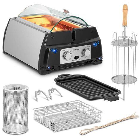 Grill De Table Infrarouge Barbecue Électrique Sans Fumée Accessoires 240°C 1780w