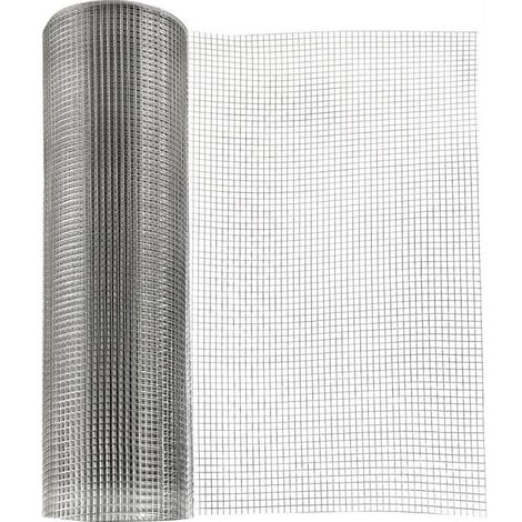 Grillage 25m inox A2 100x100x10x1000 mm