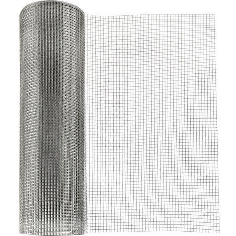 Grillage 25m inox A2 80x 80x10x1000 mm