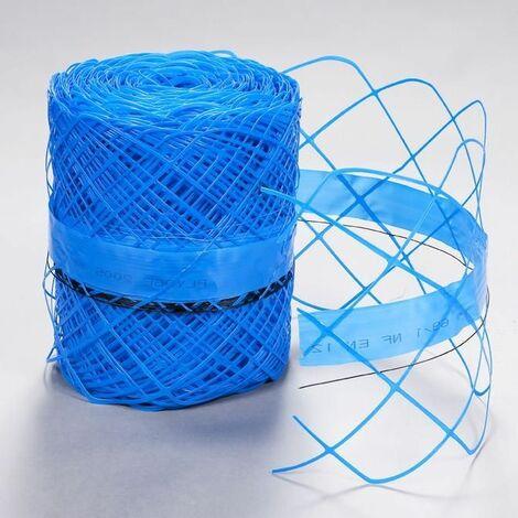 Grillage avertisseur 87-30 bleu 30cm rouleau de 100m