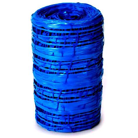 Grillage avertisseur NF bleu EAU largeur 30cm - 100ml