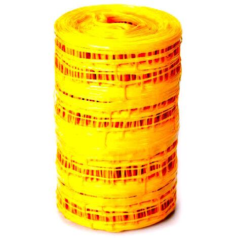 Grillage avertisseur NF jaune GAZ largeur 30cm - 100ml