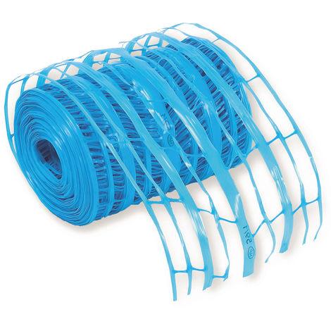 Grillage avertisseur Rlx bleu 100 M X 30 Cm - Mob/mondelin