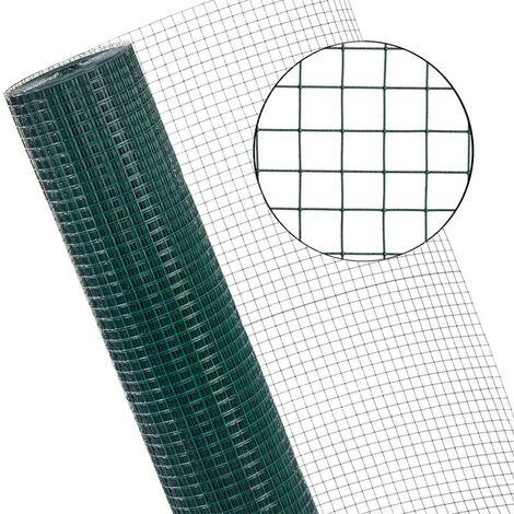 Grillage métallique de volière Grillage métallique 1x25 m Mesh taille 19x19 mm