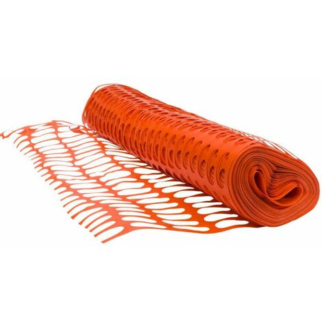 Grillage orange de balisage de chantier  Rouleau 1x50m  Werkapro